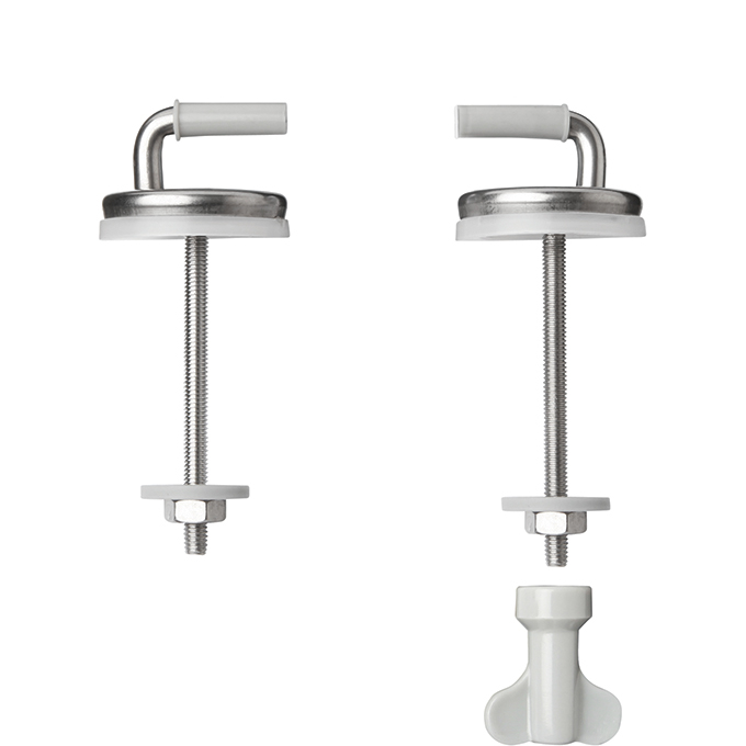 Adjustable Stainless Steel Bottom Fixing For Celmac Toilet