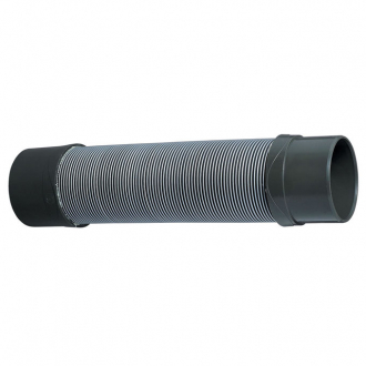 MACDEE Magicflex® Solvent weld, flexible elbow soil pipe, male to female, grey