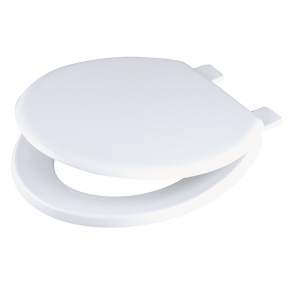 Celmac Emerald toilet seat and cover with colour matched plastic hinge