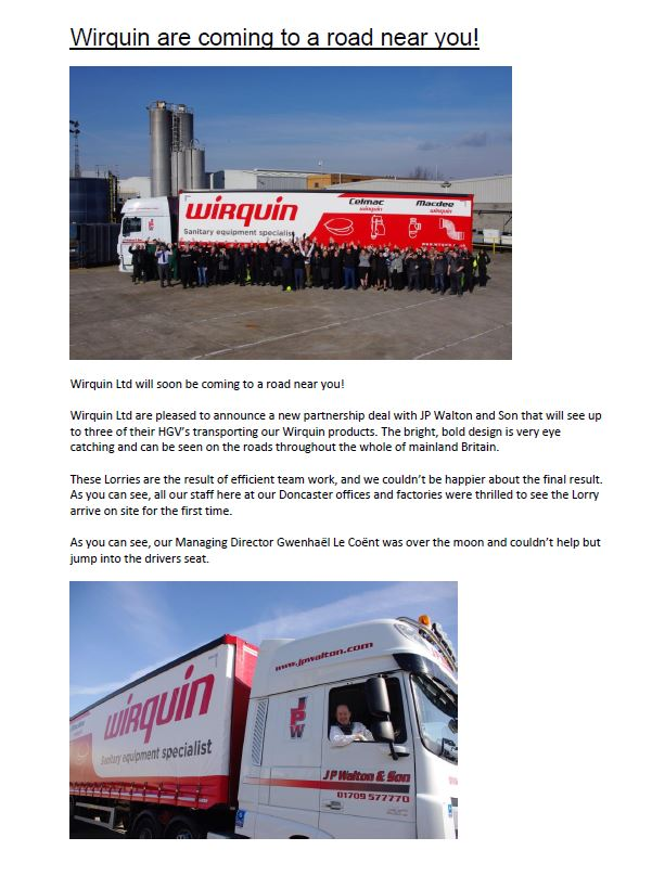 wirquin lorry news